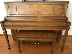 Piano With Bench Storage