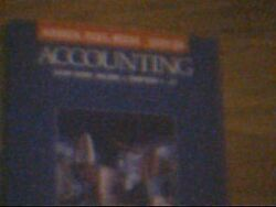 Study Guide For Accounting Chs. 1-13 By Carl S. Warren And Philip E. Fess Vg+