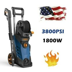 3800psi/2.8gpm Electric Pressure Washer 1800w. High Power Cleaner Water Sprayer