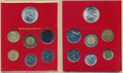 Vaticano - Coins In Portfolio Past Festive Gift- Year 1982 - Number Ms087 - Fdc