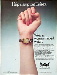 Smiths Astral Watches Help Stamp Out Unisex Vintage Advertisement 1974