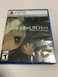 Void Terrarium++ Deluxe Edition Playstation 5 / Ps5 Brand New