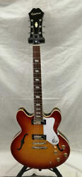 Epiphone E-360td Elitist 1966 Riviera T000927 With H/c Safe Shipping From Japan