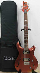 Paul Reed Smith S2 Custom 22 Semi-hollow Body W/soft Case Ships Safely From Jp