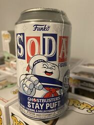 Funko Soda Ghostbusters Stay Puft 1/12500 🔥 Sealed And 1/6 Chance Of Chase