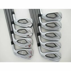 Used Club/japan Secondhand Tightlist T400 Iron Tensay Purple 40 Set Of Pw 43