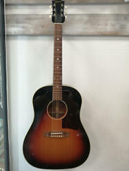 Gibson 1950s J-45 12136034 Acoustic Guitar W/hard Case Ships Safely From Japan