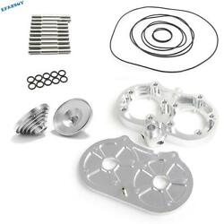 64-66mm Banshee 350 Yfz350 For Pro Design Cool Head 15cc Domes O-rings Studs Kit