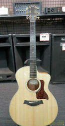 Taylor 214ce-k Dlx Acoustic Electric Guitar W/hard Case Ships Safely From Japan