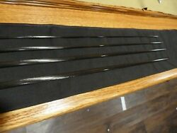 Fly Rod Blank Xi Raw Carbon Glossy 9and039 5wt 4 Piece Rod Building