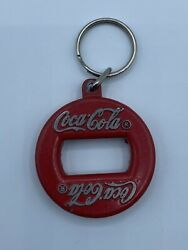 Vintage Coke Coca Cola Key Chain Bottle Opener Advertising Made In Canada 30
