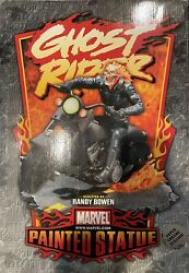 Randy Bowen Ghost Rider Chrome Statue Low 255/1000 Nm/m Condition
