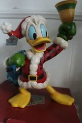 Jim Shore Disney Donald Duck Ringing In The Holiday 14 4046024