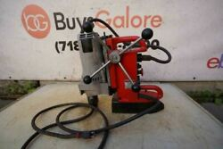 Milwaukee Electromagnetic Magnetic Drill Press Mag Drill 4203 Works Well Bg2