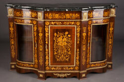 French Dresser In Louis Seize Style Rosewood Veneer