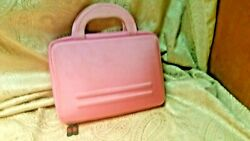 Kroo Cube Durable Eva Hard Carrying Case Pink For Asus Transformer Book T100