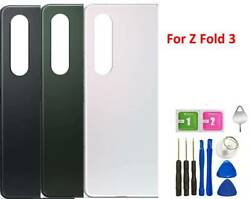 Original For Samsung Galaxy Z Fold 3 5g Back Glass Replacement With Tools