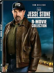The Jesse Stone 9-movie Collection Dvd 2018 5-disc Set Free 1st Class Ship