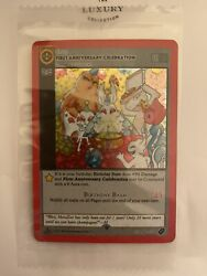 MetaZoo First Anniversary Celebration Promo Card 1st Edition Sealed Ships Now