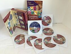 Art Explosion Greeting Card Factory Deluxe Version 6 Pc Software Cds From Nova