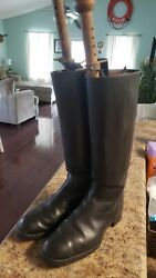 Original German WWII WW2 Enlisted NCO leather boots