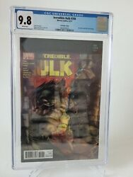 Incredible Hulk 709 Cgc 9.8 Graded White Pages Marvel Lenticular 94 Homage