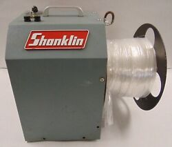 Shanklin Selvage Winder W/ Reel M09384 07/03 For S0209d 250v 15a Tested Working