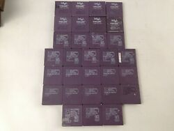 Lot Of 30 Intelandamd Dx4 De2 Vintage Ceramic Cpu For Collectandscrap Gold Recovery