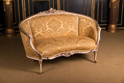 Elegant French Canapandeacute In Louis Seize Style