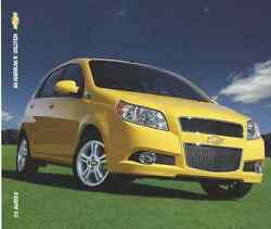 2009 Chevy Aveo5 Dealership Showroom Ad Flyer - Must See