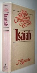 Bible Students Commentary Isaiah Bible Student's By J. Ridderbos - Hardcover