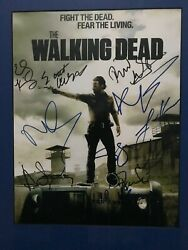 The Walking Dead Signed Poster 11 X 14. 15 Signatures 2012