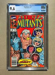 🔥 New Mutants 87 Cgc 9.6 Liefeld Mcfarlane, First Appearance Cable 🔥