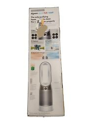Dyson Hp04 Pure Hot + Cool Smart Tower Purifying Heater And Fan - White/silver