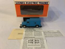 Lionel 6-52108 Lcca Blue Track Inspection Van With Manual Used O Gauge