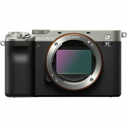 Vandeacuteritable Sony A7c Mirrorless Camera Body Only Silver