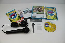 Sing Party for Nintendo Wii U Game With Microphone Complete OEM $14.99