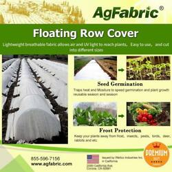 Warm Worth Floating Row Cover Winter Frost Protection Seed Germination 0.55oz