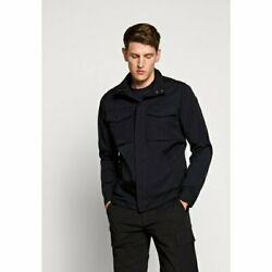 Theory Mens Jacket Blouson Outer Yost Summer Ink