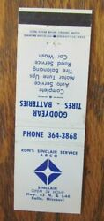 Arco Gas Station Ronand039s Sinclair Service Rolla Missouri C1970s -g28