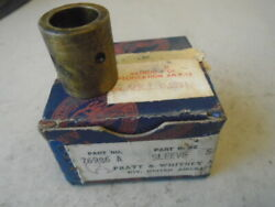 Lot Of 5 Ea Nos Pratt And Whitney Sleeves P/n 76986 For R-2800 Radial Engine