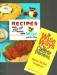 1962 Vintage Collectible Wise Potato Chips Recipe Booklets