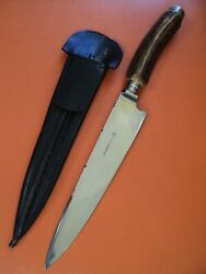 Creole Gaucho Argentina Genuine Dagger Knife German Hunting Style Stag Handle