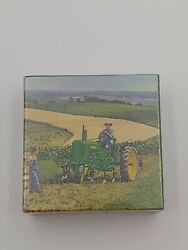 John Deere Late Styled Model B With Cultivator Jigsaw Puzzle 81 Pcs 7.5x7.5