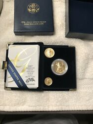 2007 American Eagle One-half Ounce Gold Coin Proof Coin United States Mint