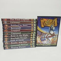 The Story Keepers Dvd Full Set Lot 13 Collection Bible Stories Zonderkidz No Box