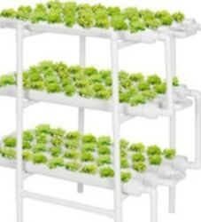 Soilless Hydroponic Grow Kits 108 Plant Sites 12 Pvc Pipes Hydroponics Growing