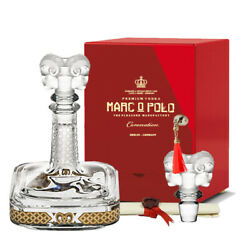 Marc O Polo Coronation Red Edition 70cl 40 Crystal Decanter Noble Vodka Germany