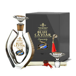 Blue Caviar Exquisitely Grey Edition 70cl 40 Crystal Decanter Vodka Germany