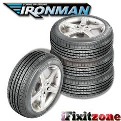 4 Ironman Rb-12 Rb12 Nws 215/70r15 98s White Wall All Season Performance Tires